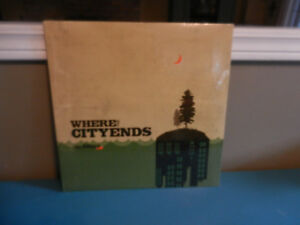 Vinyl Record/LP Folk Del Barber Where The City Ends Sealed