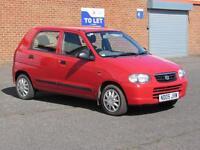 2005/05 Suzuki Alto 1.1 GL, only 50000 miles, 11 Months MOT