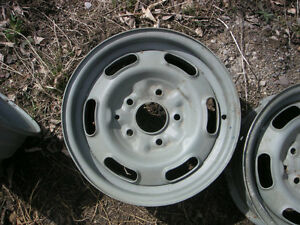 Pontiac GTO Rally 1 wheels with trim ring & cap $150 ea Peterborough Peterborough Area image 2