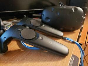 HTC Vive peu utilisé
