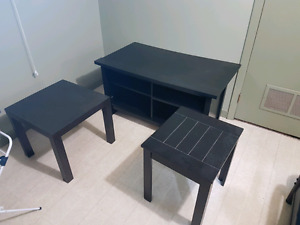 Coffee tables and tv stand for sale