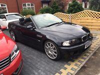 BMW M3 SMG 3.2 petrol automatic convertible FSH