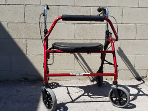 like new walker holds 450lbs wide 180.00   cost over 600 new