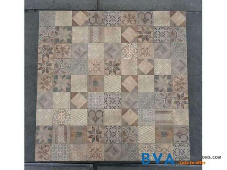 Badkamertegels Met Motief : Online veiling tegels met mozaiek motief cm m