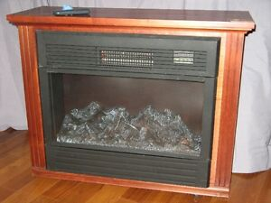 AMISH FIREPLACE WITH REMOTE