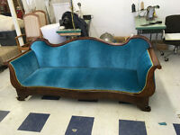 Furniture Upholstery, Re-Finishiing and Repair.