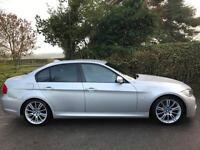 2011 11 BMW 330d M SPORT 3.0 SALOON DIESEL AUTO 245 SILVER PRO MEDIA SAT NAV