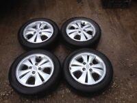 "Hyundai 14"" alloy wheels"