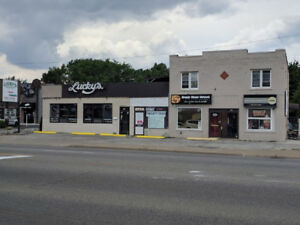 Mixed 7 unit commercial /residential building, prime Windsor ON