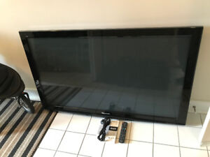 "Panasonic TC-P58S2 58"" 1080P Plasma Flat Screen HDTV"