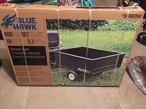 Dump Cart for Riding lawn mower