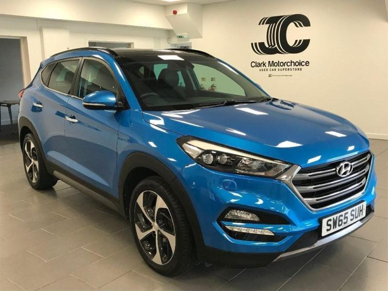 2015 hyundai tucson 2 0 crdi premium se station wagon 4wd 5dr diesel blue manual in aberdeen. Black Bedroom Furniture Sets. Home Design Ideas