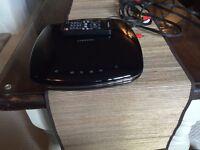 Small Samsung DVD in black gloss