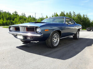 1972 Plymouth Barracuda 360 4 Speed