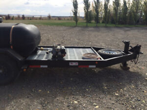 2011 oasis, 12,000 pound tandem trailer. Professionaly