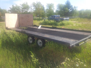 2012 4-place sled trailer