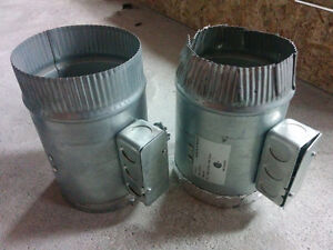 5 Inch Round In-Line Duct Air Booster, Used