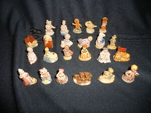 Complete Set Wade Nursery Rhyme Figurines Vintage Windsor Region Ontario image 2