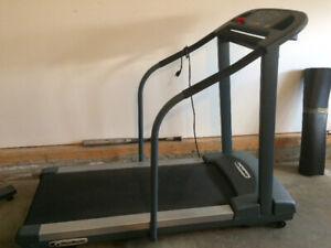 TREADMILL AND WEIGHTS