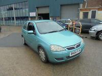 Vauxhall Corsa 1.2i 16v ( a/c ) Design 3 DOOR - 2004 04-REG - FULL 12 MONTHS MOT