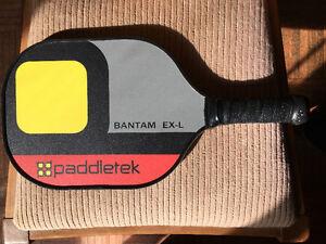 fantastic slighly used Paddletek Pickleball Paddle
