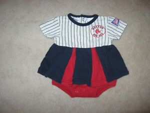 Boston Red Sox Baby Clothing Lot