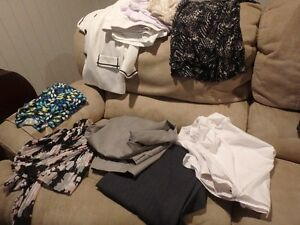 assorted womens plus clothing