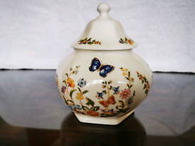 AYNSLEY COTTAGE GARDEN CHINA CANDY/GINGER JAR