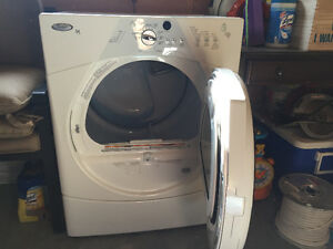 Whirlpool Dryer and 2 pedestals for sale