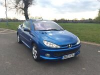 Peugeot 206 CC 1.6 S 2dr CONVERTIBLE + FULL LEATHERS + HPI CLEAR