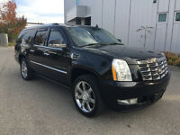 2007 CADILLAC ESV BLACK ON BLACK BLACK ON BLACK NAVIGATION