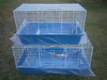♥♥♥ Plastic Bottom Wire Top Rabbit /Guinea pIg Cages ♥♥♥ Londonderry Penrith Area Preview