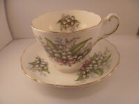 Grosvenor, Gosling And Jackson Bone China Cup And Saucer