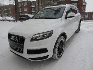 2011 Audi Q7 VUS, S LINE, GARANTIE PROLONGÉE 2021!!!