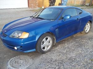 2004 Hyundai Tiburon MANUAL 5spd  no rust clean $1999FIRM