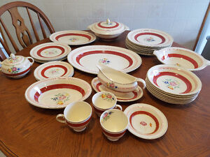 Antique dish set from England.
