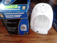 small rotating and tall tower rotating heaters