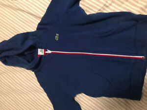 Size 4 Lacoste Toddler Boys Hoodie