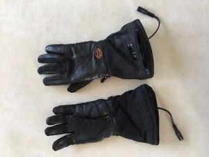 Women's Heated Waterproof Leather HD Gauntlet Gloves