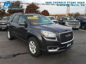 2015 GMC Acadia SLE  REARCAM,PARK ASSIST,$99 WEEKLY + TAX
