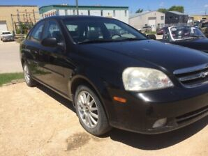 04 Chevy Optra Black Beauty !