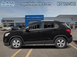 2016 Chevrolet Trax LT  - Certified -  Bluetooth - $130.27 B/W