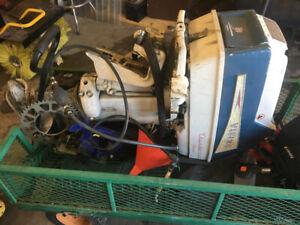 Older 40hp viking boat motor $100 Firm or trades