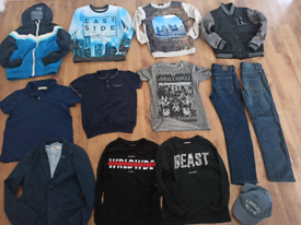 Boys clothes bundle age 9 years 13 items