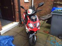 Motorbike 62plate