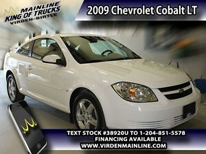 2009 Chevrolet Cobalt LT  - $92.75 B/W - Low Mileage
