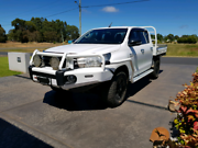 2016 Toyota Hilux SR 4x4 Dual Cab Chassis Manual Turbo Diesel Manjimup Manjimup Area Preview