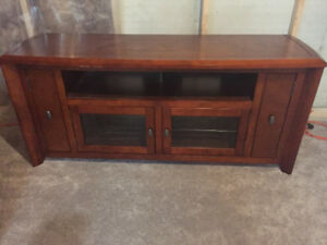 Entertainment unit solid wood