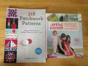Patchwork Pattern and Artful Parenting Book