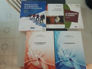 Livres universitaire à vendre